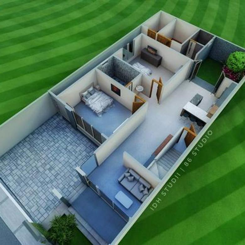 Rumah Baru Siap Tempati Di  Jl. Purbaya, Salatiga