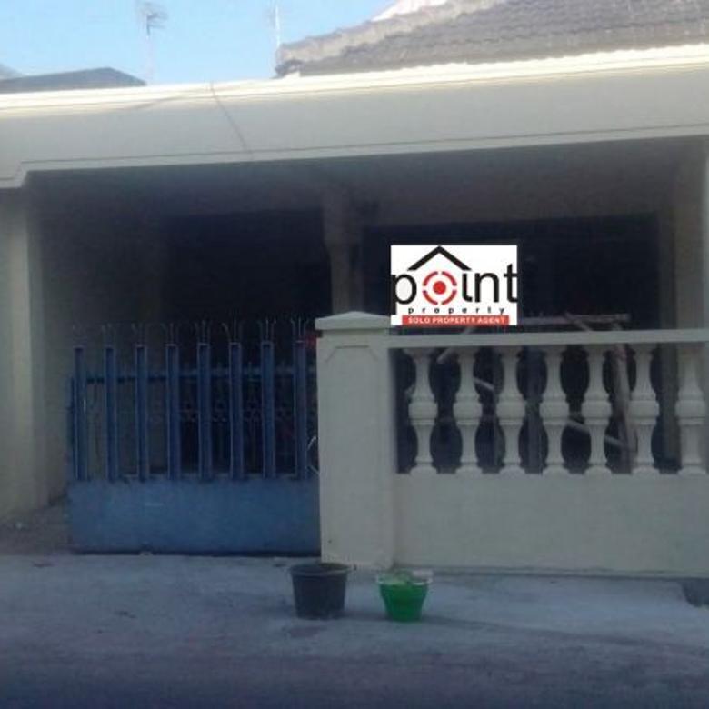 Rumah Seken Lingkungan Nyaman di Solo Baru