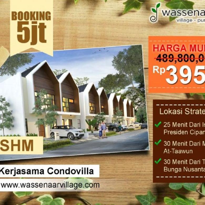 Villa Murah Puncak Fasilitas Smart Home System & BBQ Area