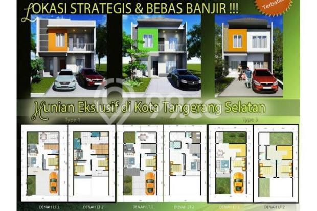 Dijual Rumah Cluster Lokasi Strategis di Pondok Ranji Dekat Bintaro Tangsel 7284290