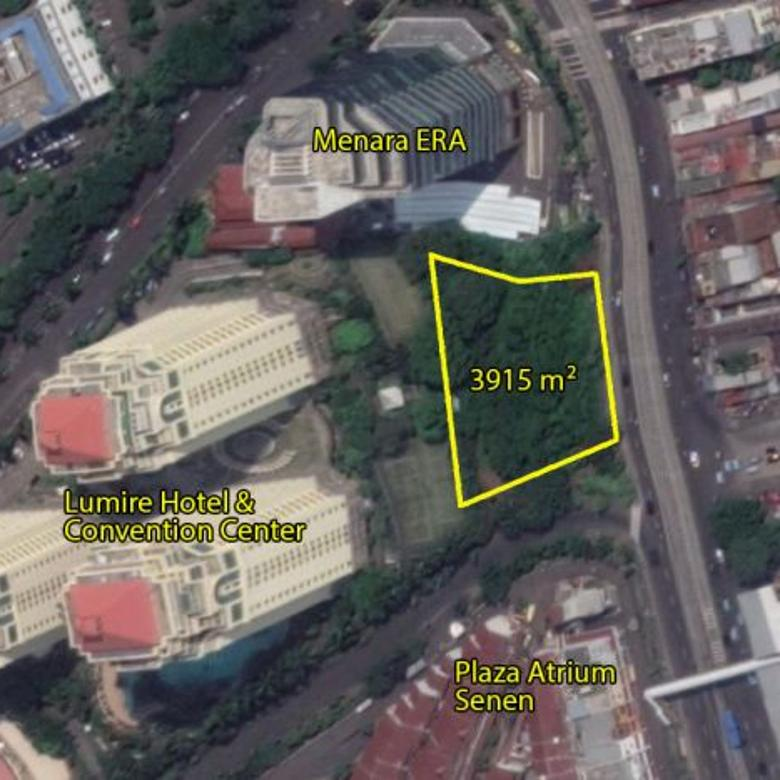 Kavling komersil jl Raya Senen jakarta pusat Pasar Senen
