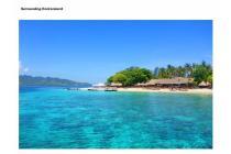 Tanah lokasi strategis di Gili Air dekat pantai ideal untuk Hotel
