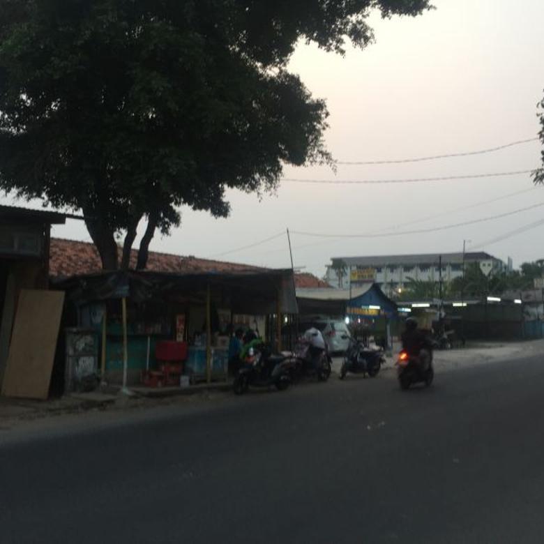 Tanah di Pondok Betung Bintaro jl utama dekat stasiun dan tol