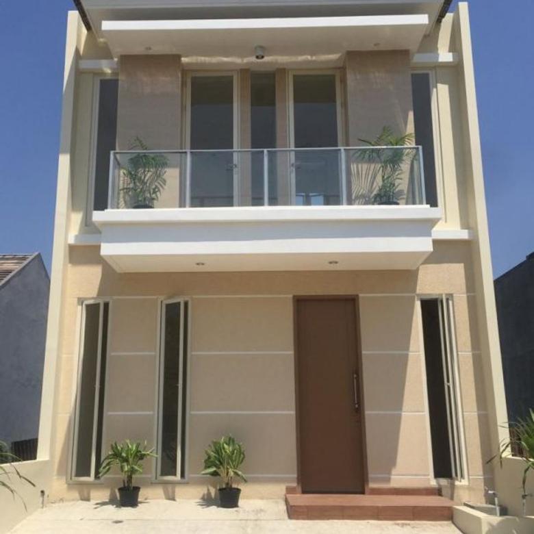 Rumah Dijual Baru Gress Bukit Palma 2lantai - Citraland (184a)