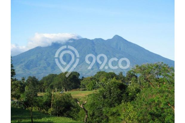 Tanah Dijual Murah View Menarik Dibawah Kaki Gunung Salak 3003776