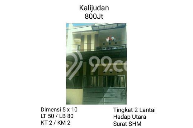 Rumah Surabaya Timur Murah Kalijudan 800juta 13245474