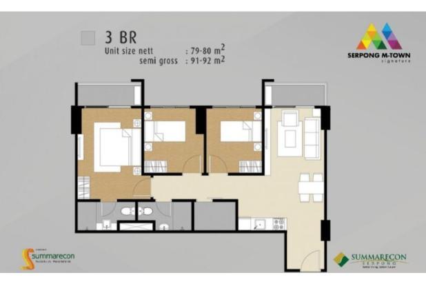 Rp2,23mily Apartemen Dijual