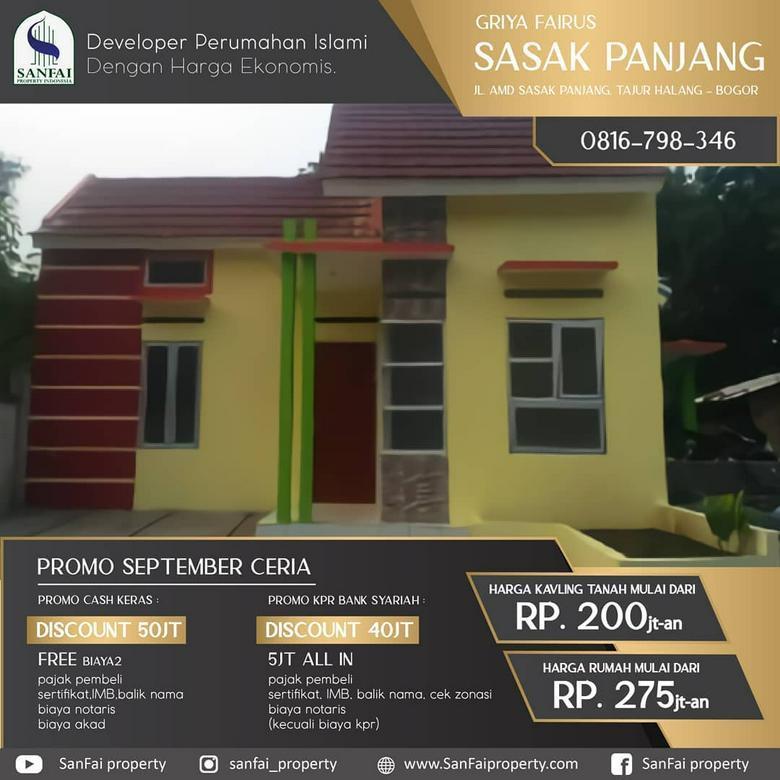 Rumah Dekat Stasiun Citayam, Harga 200an Khusus Muslim