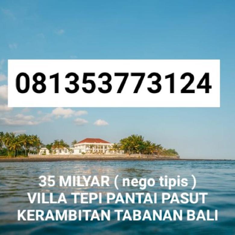 Villa Bali Beach Mansion Pasut Kerambitan Tabanan Bali