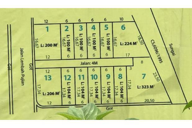 Rp950jt Tanah Dijual