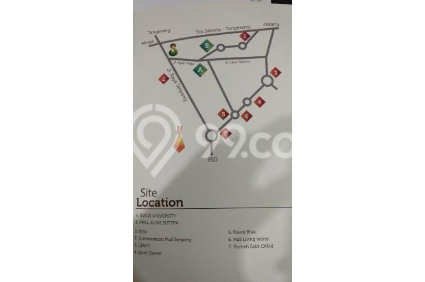 Brigitta Chin - Apartemen Springwood luas 52.5m2, 2br Rp. 1.150M 14419108
