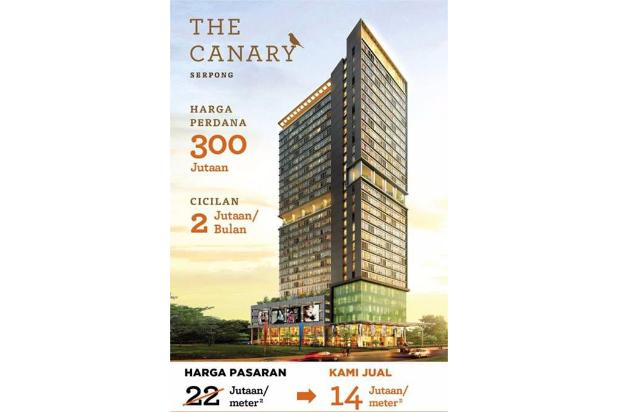 Apartemen The Canary Cicilan Hanya 2 Jutaan/Bulan 5 Menit ke AEON Mall BSD