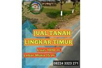 Jual Tanah Tepi Jl. Lingkar Timur Luas 1010 m²