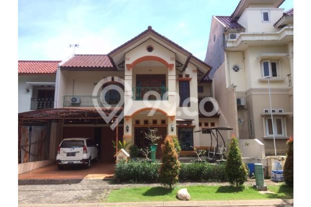 rumah 2 lantai siap huni posisi depan di jalan utama perumahan GTB BSB 15062940