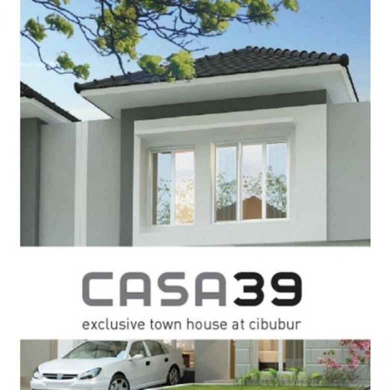 Dijual Townhouse Cantik dan Nyaman di Casa39 Cibubur MD563