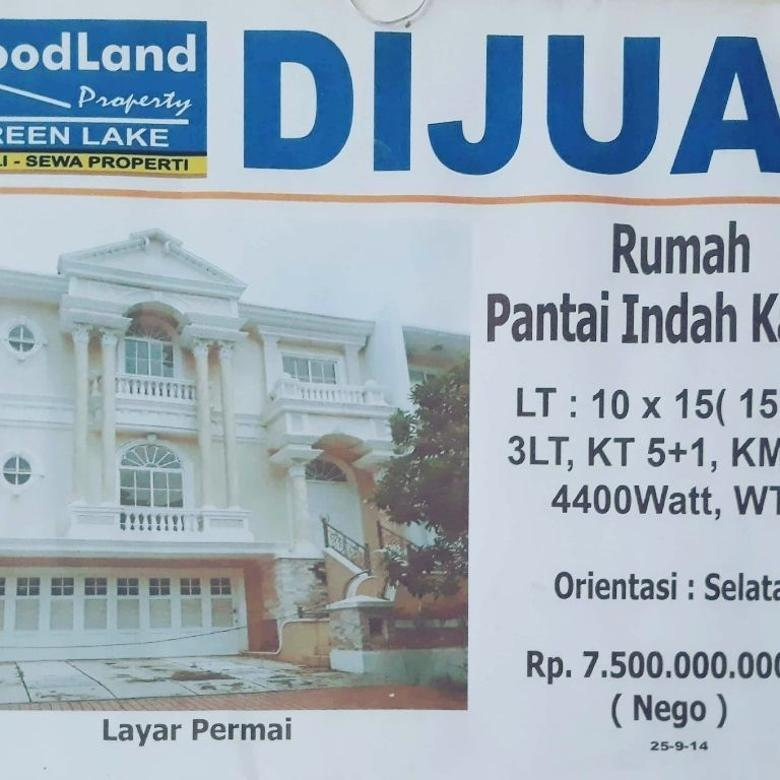 Rumah di jual green lake city