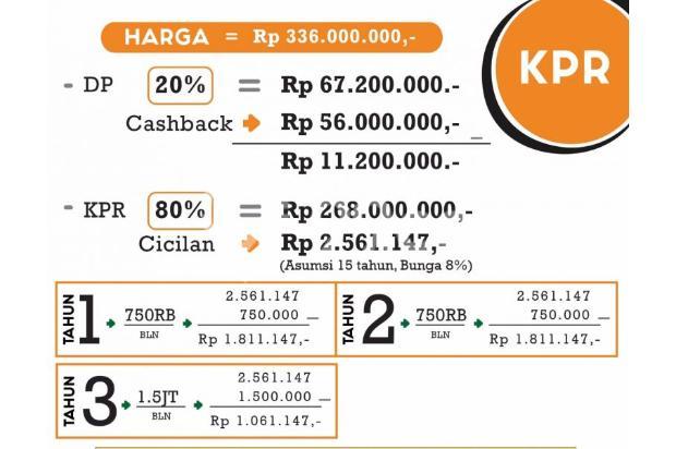 invest rukost bayar /kamar angsuran 1,9jt/bln 13245196