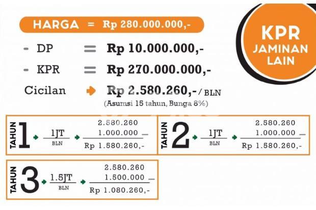 invest rukost bayar /kamar angsuran 1,9jt/bln 13245209