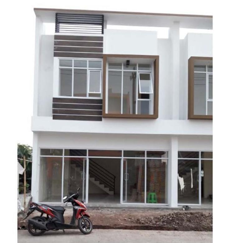 Ruko Bandung 2 Lantai untuk Bisnis Main Road Dekat Tol Buah Ba