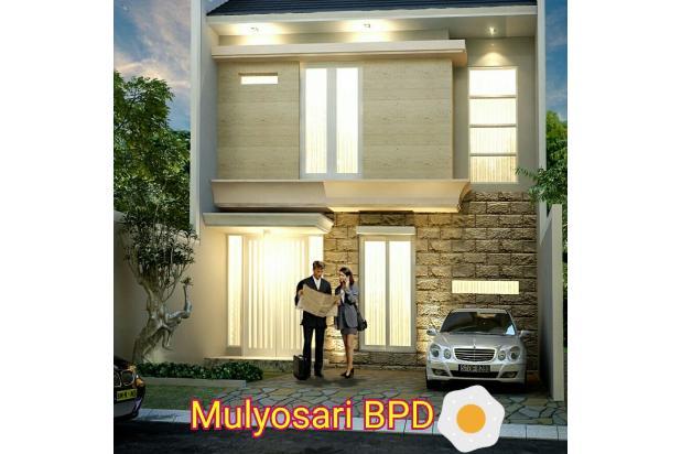 Rumah Modern Minimalis  Bebas Banjir Jalan Sudah Paving di Mulyosari BPD 15796391