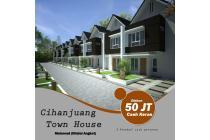 Rumah baru 2 lantai promo 500 jutaan di cihanjuang cimahi