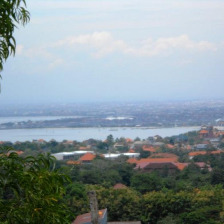 Tanah 5 Are Full Unblock View di Belakang GWK Jimbaran