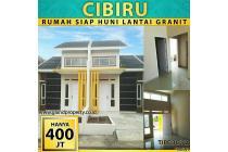 Rumah cluster siap huni DP40jt(allin) SHM di Cibiru,Soekarno hatta,Cileunyi