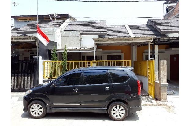 Salah satu unit rumah di perumahan graha kencana disewakan per tahunnya.