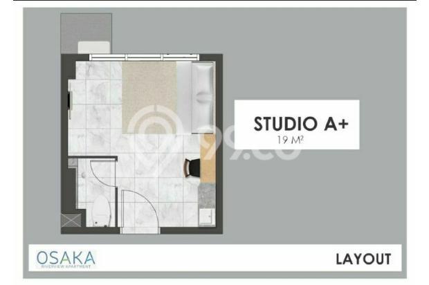 Apartemen di Jakarta Fully Furnish Cicilan Cuma 1.1 juta 16844454