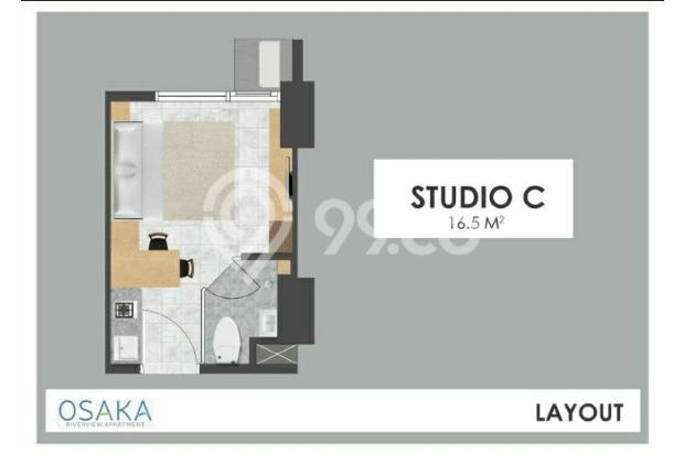 Apartemen di Jakarta Fully Furnish Cicilan Cuma 1.1 juta 16844464