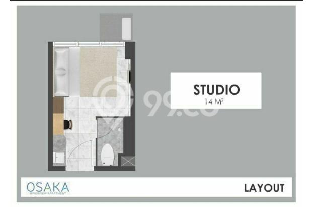 Apartemen di Jakarta Fully Furnish Cicilan Cuma 1.1 juta 16844542