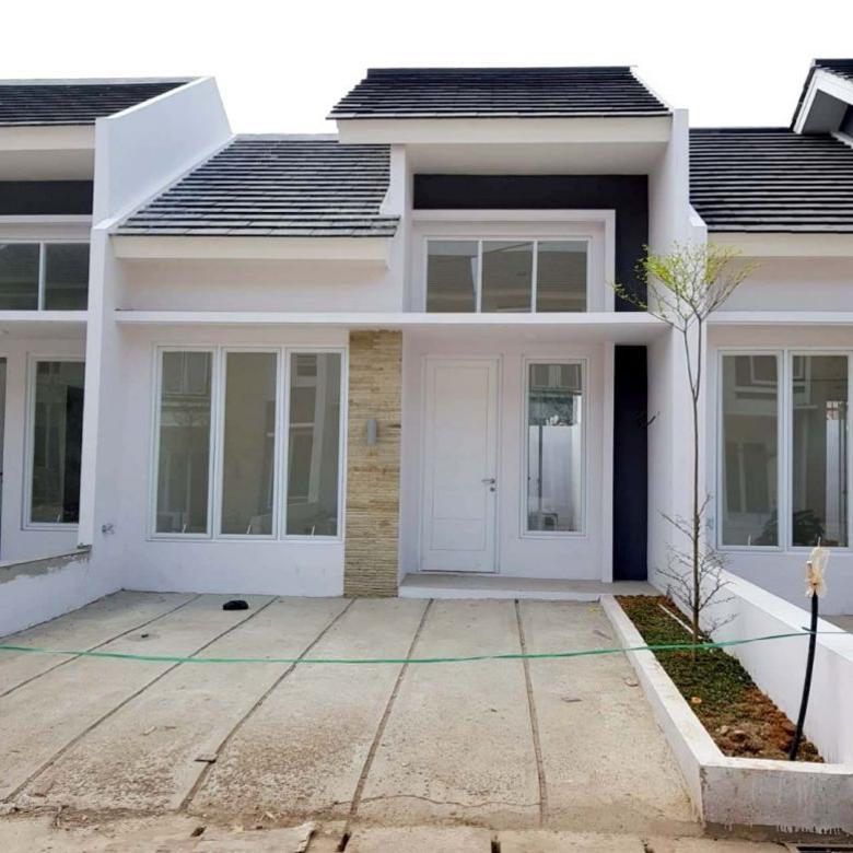 Desain Rumah Minimalis Luas Tanah 72  rumah cluster minimalis desain cantik modern sukmajaya depok luas tanah 72