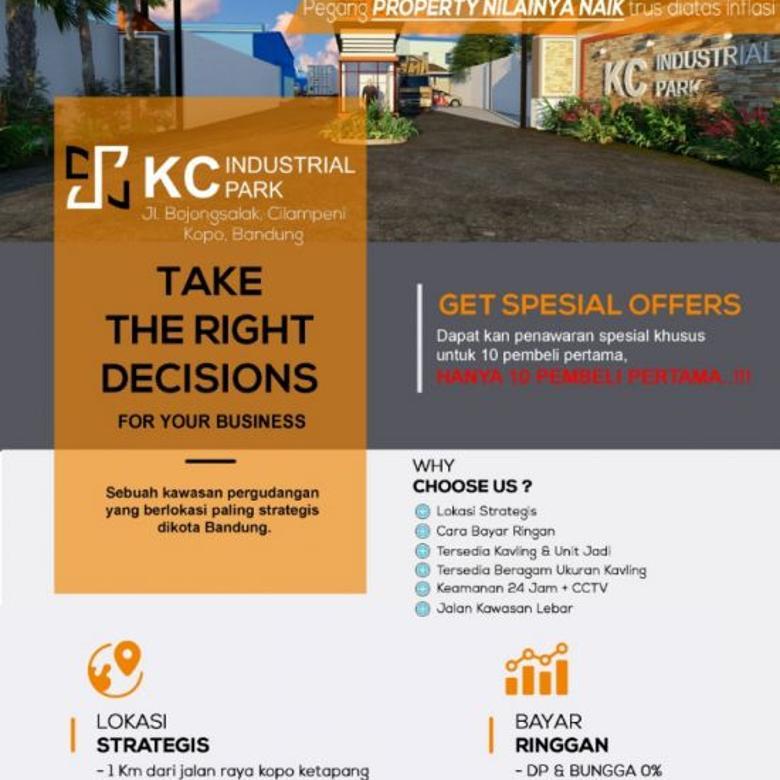 K.C Industrial Park Tanah Cocok untuk Pergudangan dan Bisnis