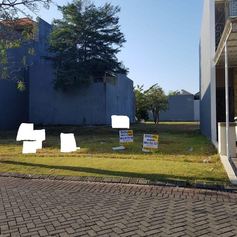 Tanah Pakuwon Indah Granada lt 180 m2 hadap selatan lokasi bgs