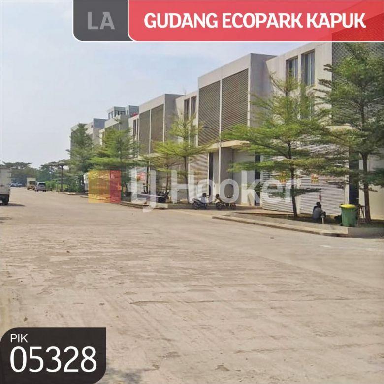 Gudang Pergudangan Ecopark Kapuk, Penjaringan, Jakarta Utara