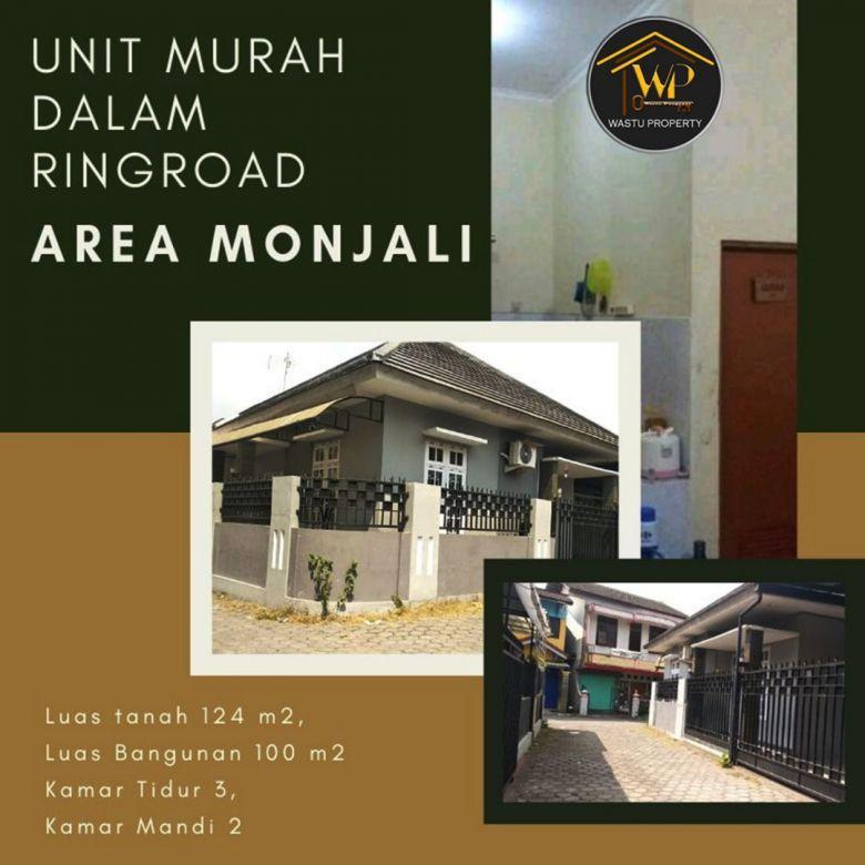 Unit Rumah Murah Di Jalan Monjali