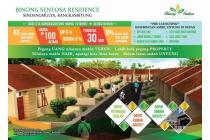 Binong Sentosa Residence- Tanpa BI Checking - Strategis  di Lebak Banten