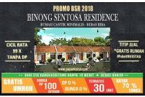 Binong Sentosa Residence- Tanpa DP - Tanpa RIBA - Tanpa BI Checking