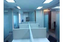 Sewa Office di Menara Batavia, Jl. KH. Mas Mansyur, 152.90m2 Full Furnished