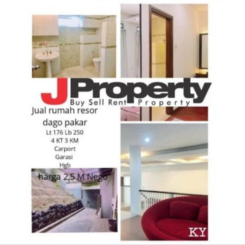 Dijual Rumah Nyaman di Resor Dago Pakar Bandung