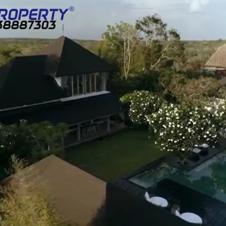 Vila with magnificent ocean view in Wisesa Pecatu Bali 32,5 M