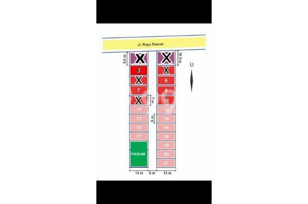Dijual Rumah Aman dan Nyaman di Griya Salam Madani, Malang 16226640