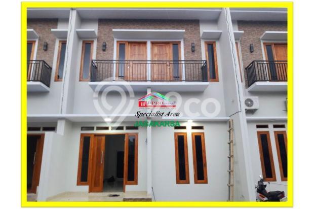 rumah mewah 2 lantai dalam cluster akses dekat ke stasiun lenteng agung 17341571