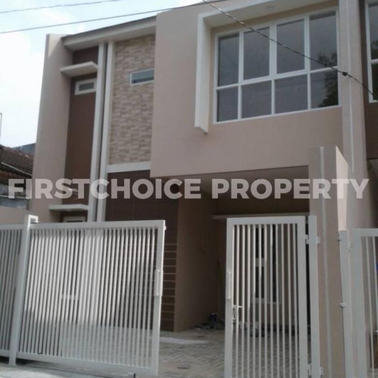 Dijual Rumah Baru 2 Lantai Siap Huni di Ampera