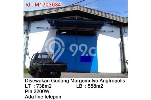 Disewakan Gudang Margomulyo Angtropolis 17267144