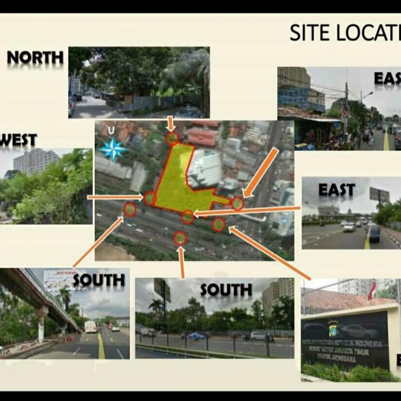 Dijual Tanah Siap Bangun Strategis di Jl. MT Haryono, Jaktim