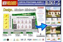 Harga mulai 260 jutaan, Hunian Design Baru Modern di Prambanan