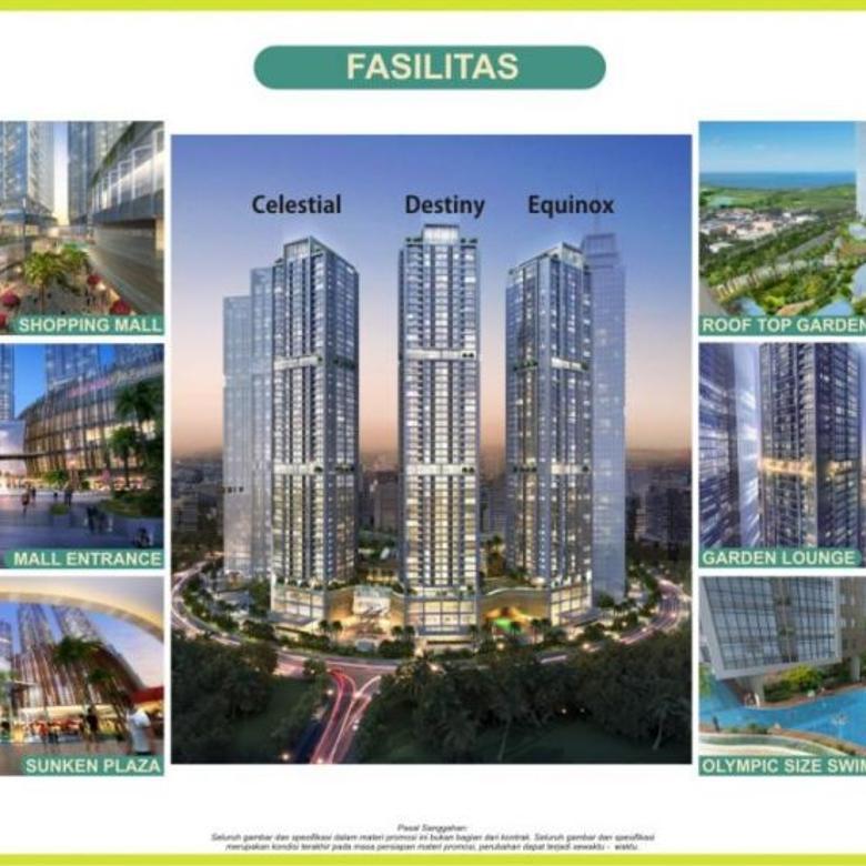 Dijual Brand New! Apartemen Menara Jakarta 1BR Garden Suites