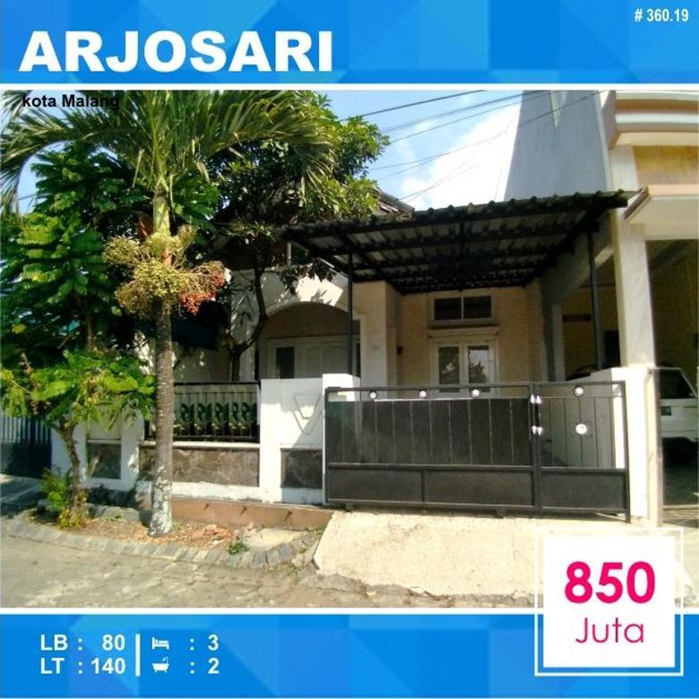Rumah Murah Luas 140 area Teluk Etna Arjosari Malang _ 360.19
