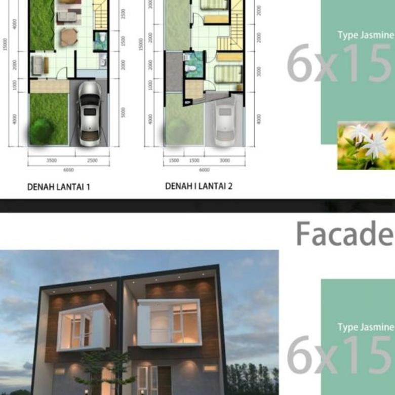 Rumah Mewah Tipe Lily Fasilitas Lengkap di Kota Bekasi